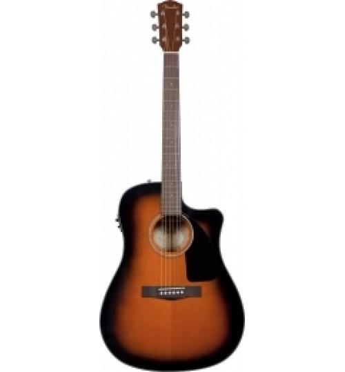 Fender Sunburst Cutaway Spruce Top Nato Ba Elektro Akustik Gitar CD-60CE 0961542032